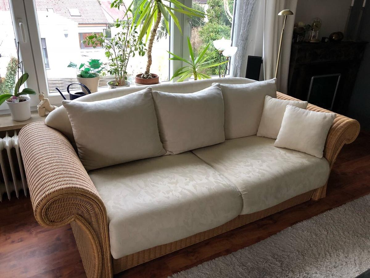 2 X Sofa Couch Rattan In 97082 Würzburg For 159 00 For Sale Shpock