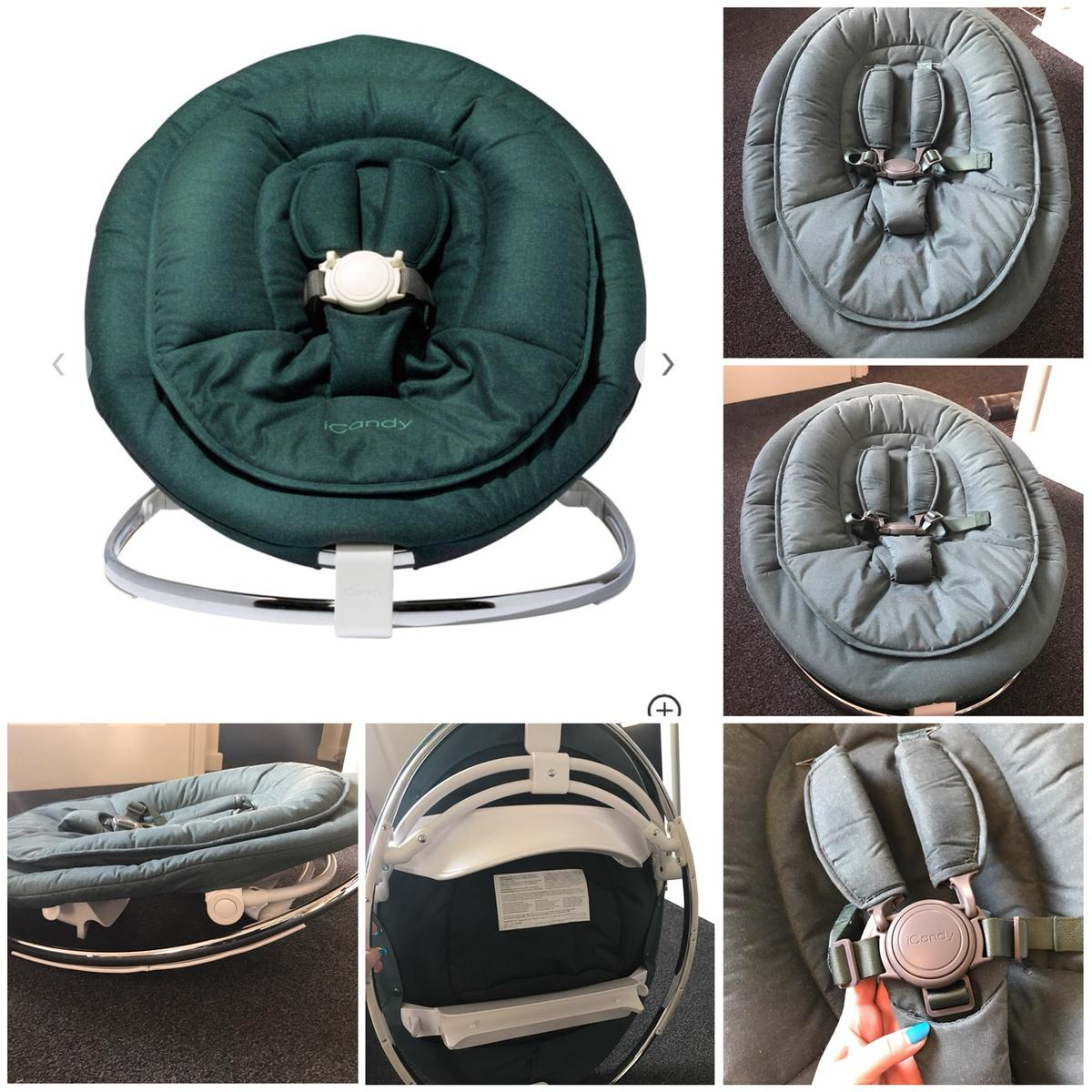 Egg Pram Parasol John Lewis Icandy Michair Newborn Pod Olive In Huncote For 50 00 For