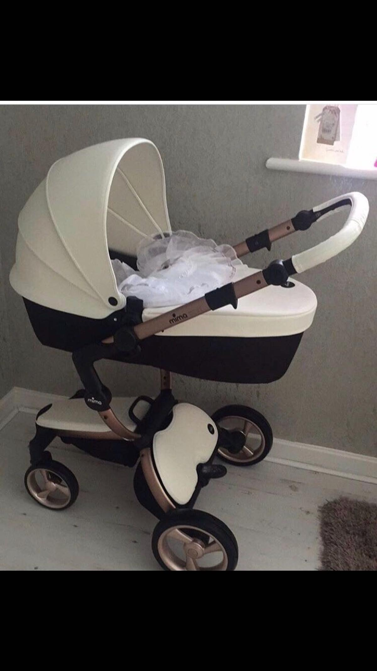 Mima Xari Seat Box 2 Snow-white Mima Xari Snow White Rose Gold Pram In L7 Liverpool For