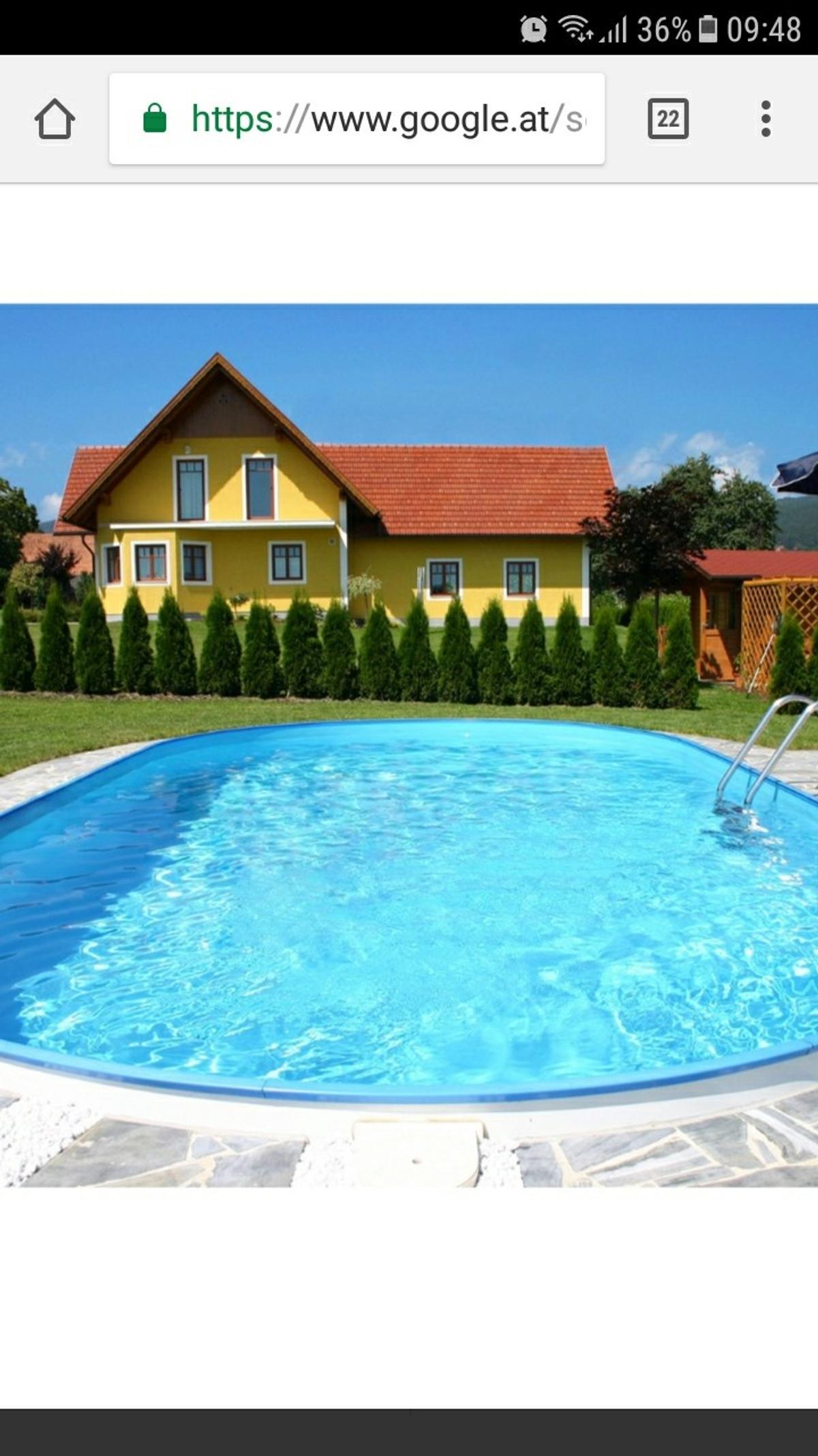 Neuer Pool In 8811 Scheifling For 2 600 00 For Sale Shpock - Intex Pool Eingraben