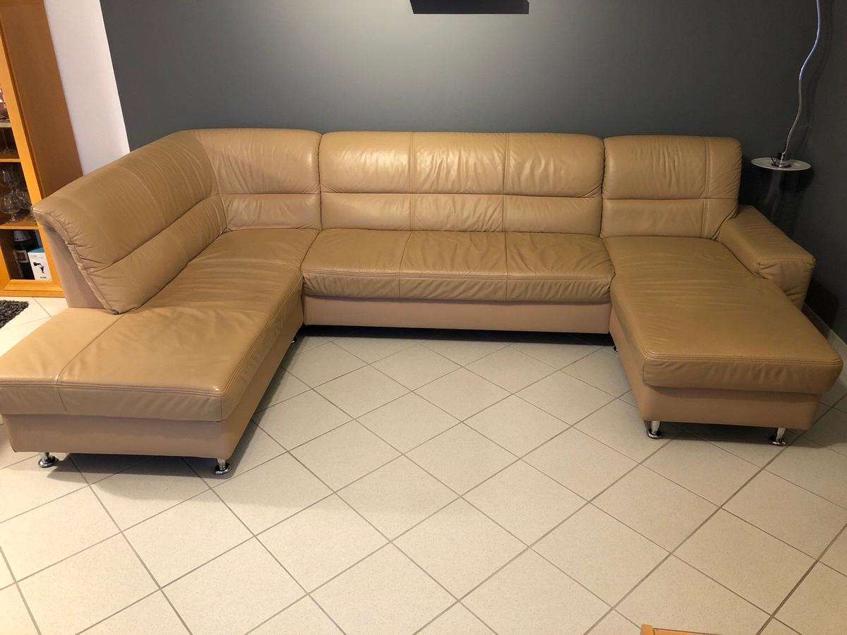 Ledercouch U Form Ledersofa In U-form In 45711 Datteln For €120.00 For Sale | Shpock