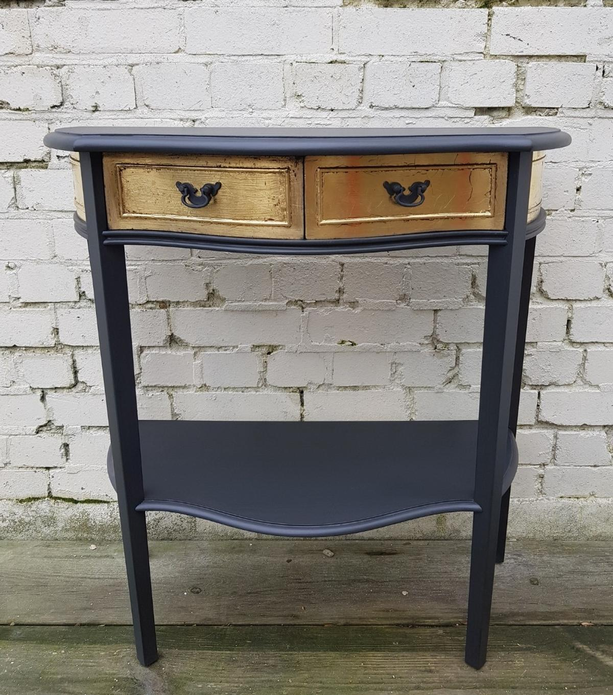 Vintage Hall Table Vintage Console Hall Table 2 Drawer In En5 Barnet For 185 00 For