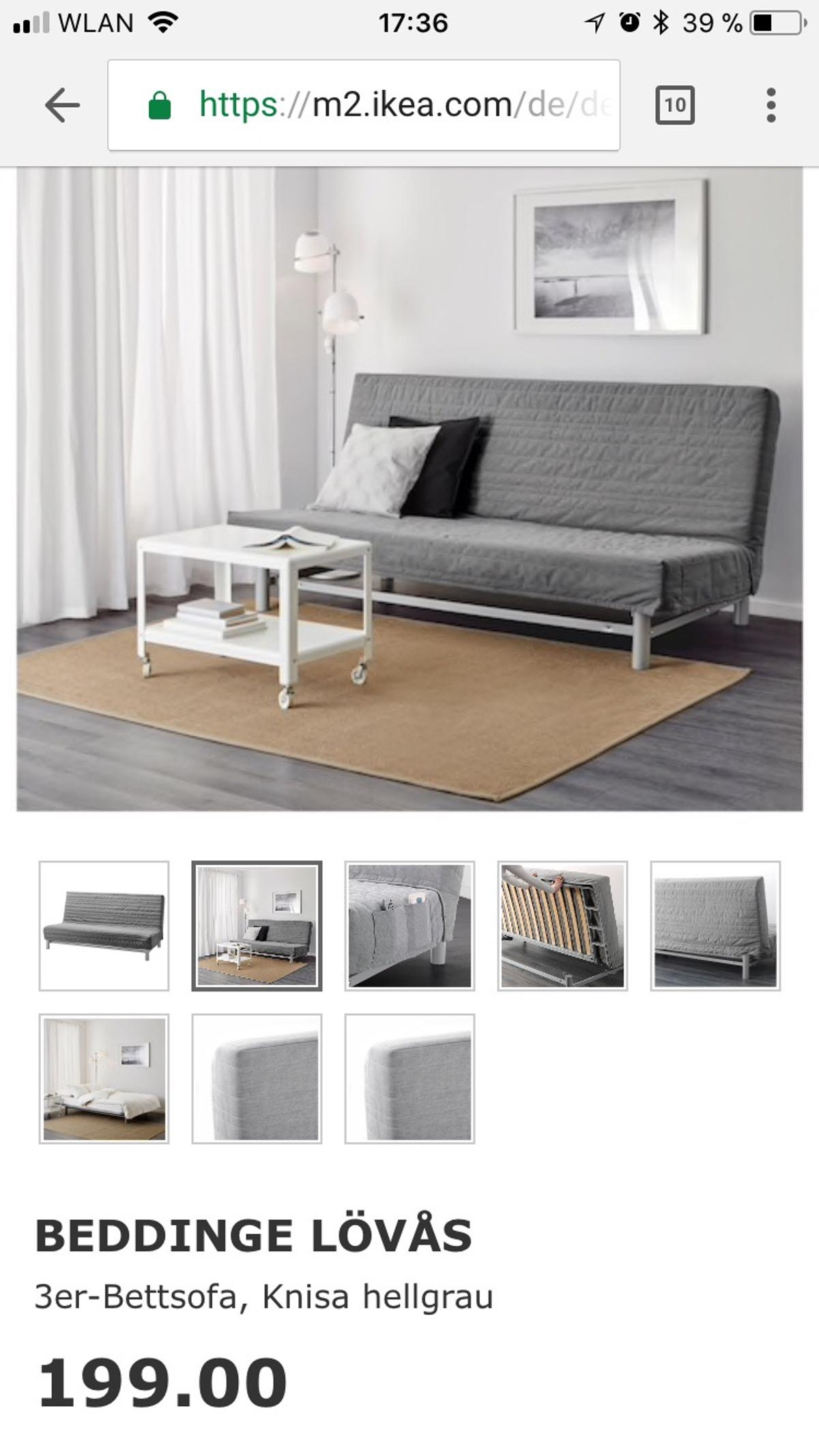 Ikea Beddinge LÖvas 3er Bettsofa In 67227 Frankenthal Pfalz For 30 00 For Sale Shpock