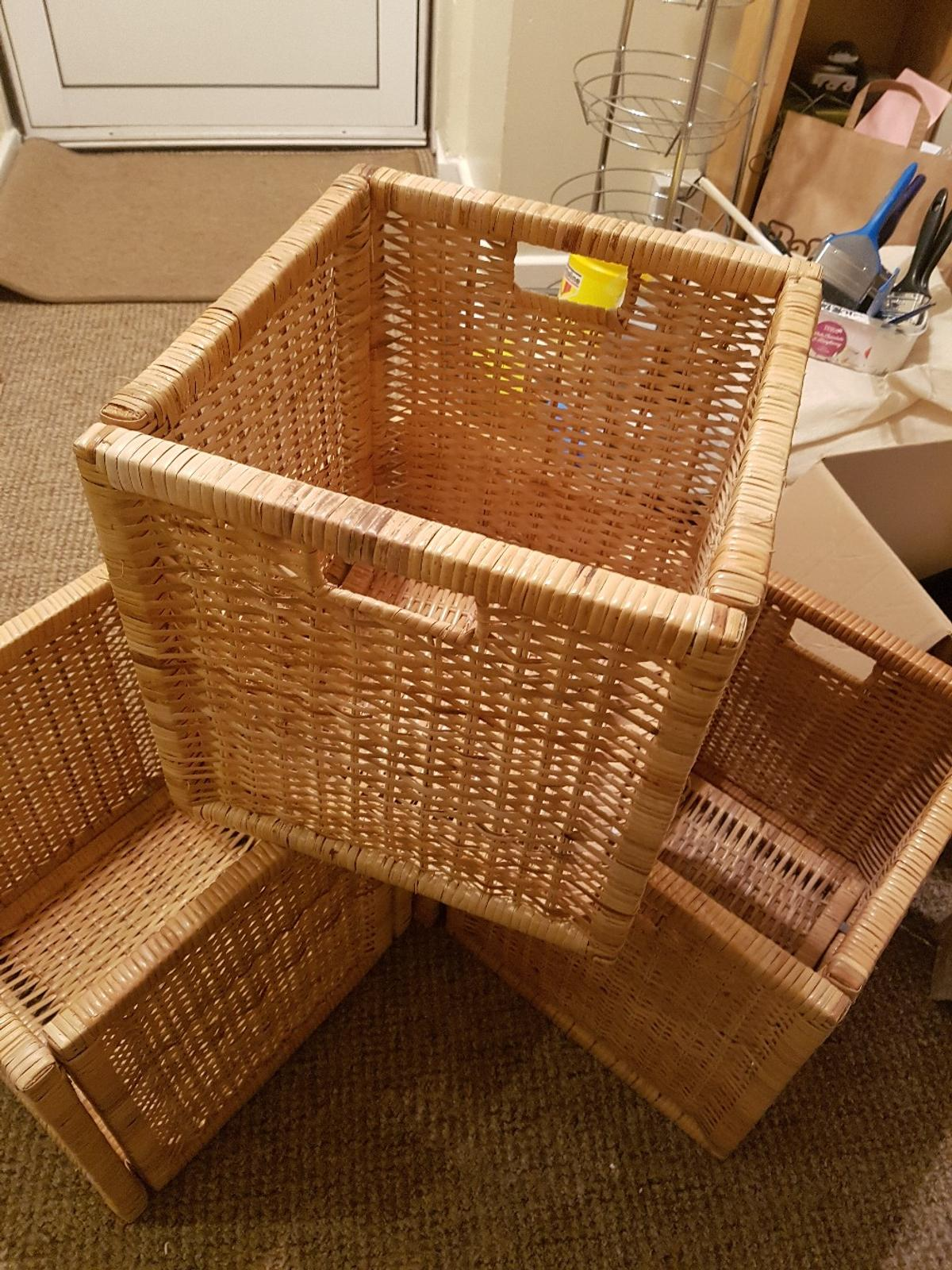 Ikea Expedit Orange 4 X Ikea Kallax Expedit Branas Baskets In Wycombe For 20 00 For