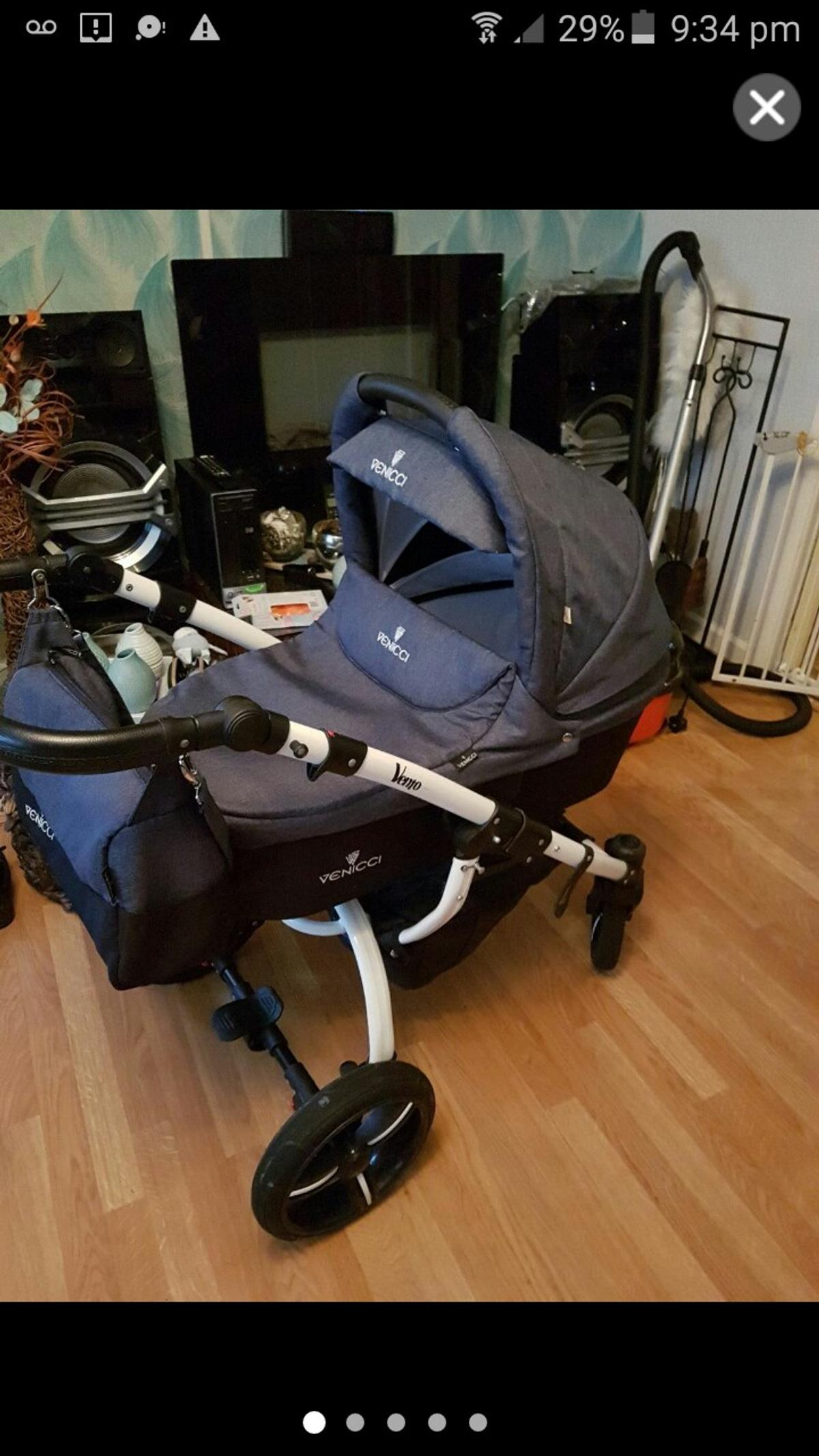 Toddler Stroller Umbrella 3 In One Vennici Pram In Ws10 Sandwell For 140 00 For Sale