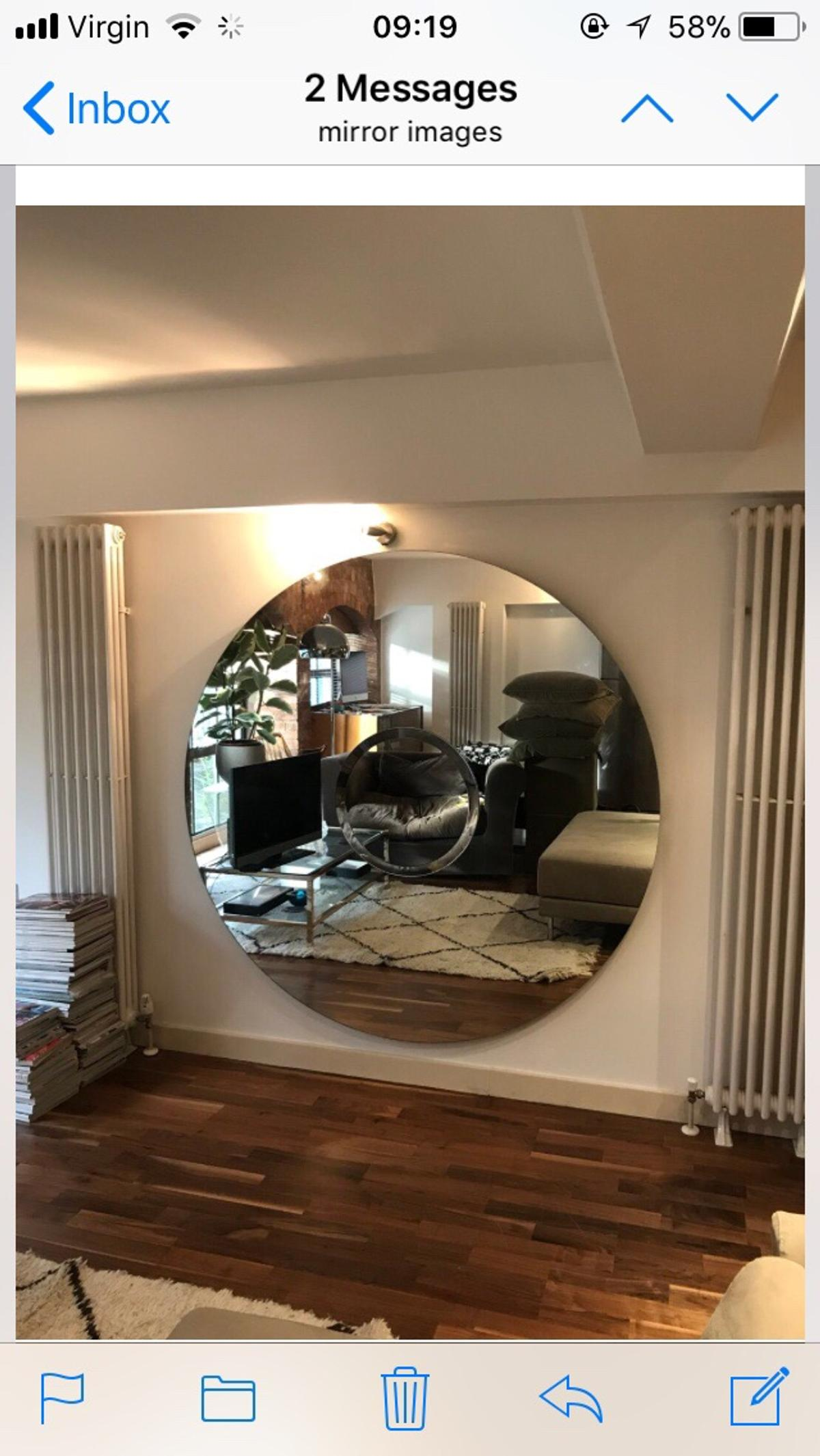 Huge Mirror Huge Mirror In E4 London For 400 00 For Sale Shpock
