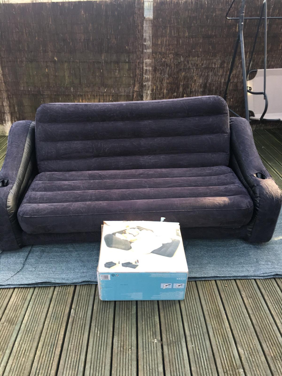 Big Inflatable Couch Intex Inflatable Camping Sofa Bed In Doncaster For 30 00