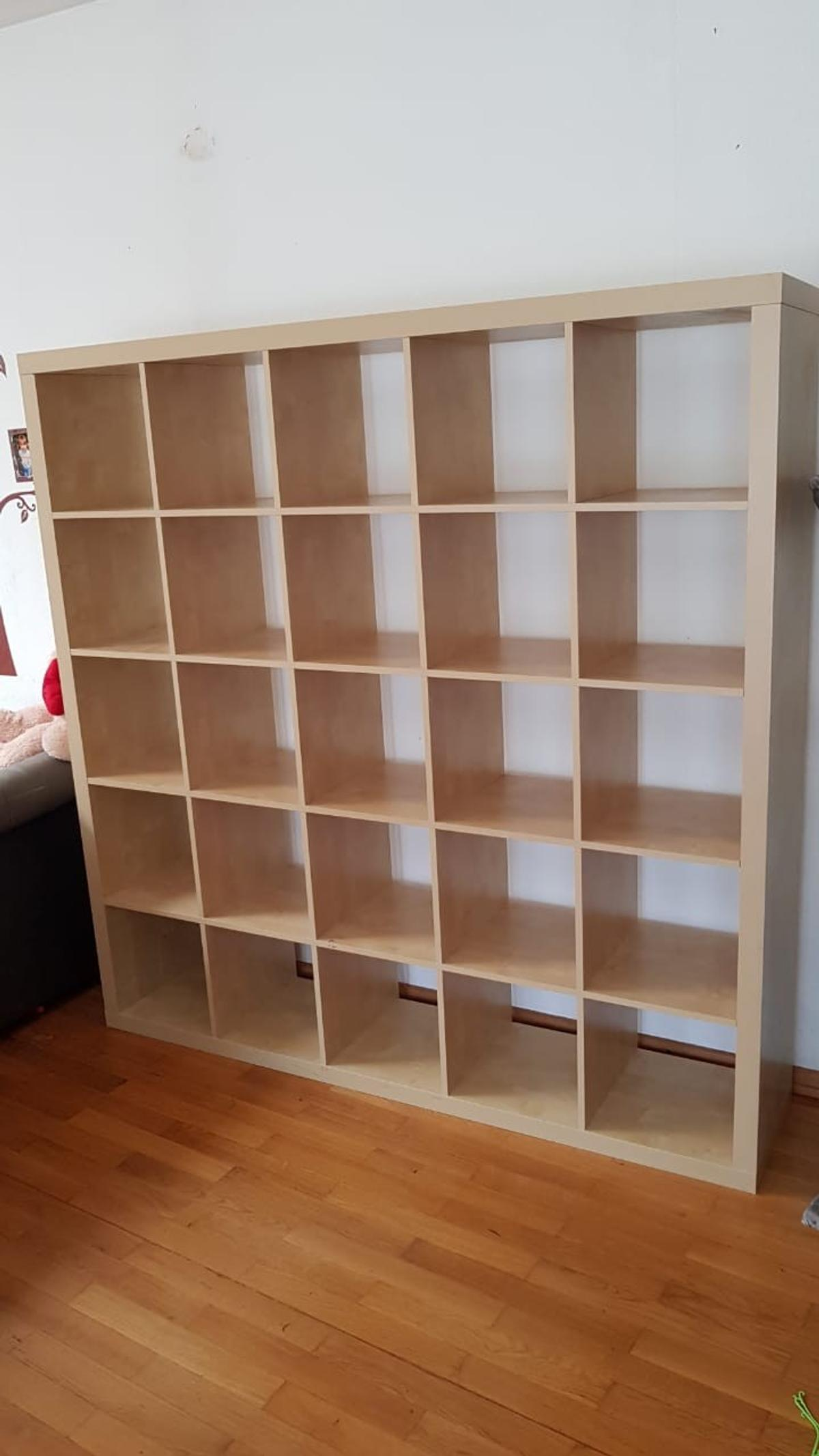 Regal Birke Expedit Ballack Regal 5x5 Birke Ikea In 68623 Lampertheim For €80.00 For Sale | Shpock