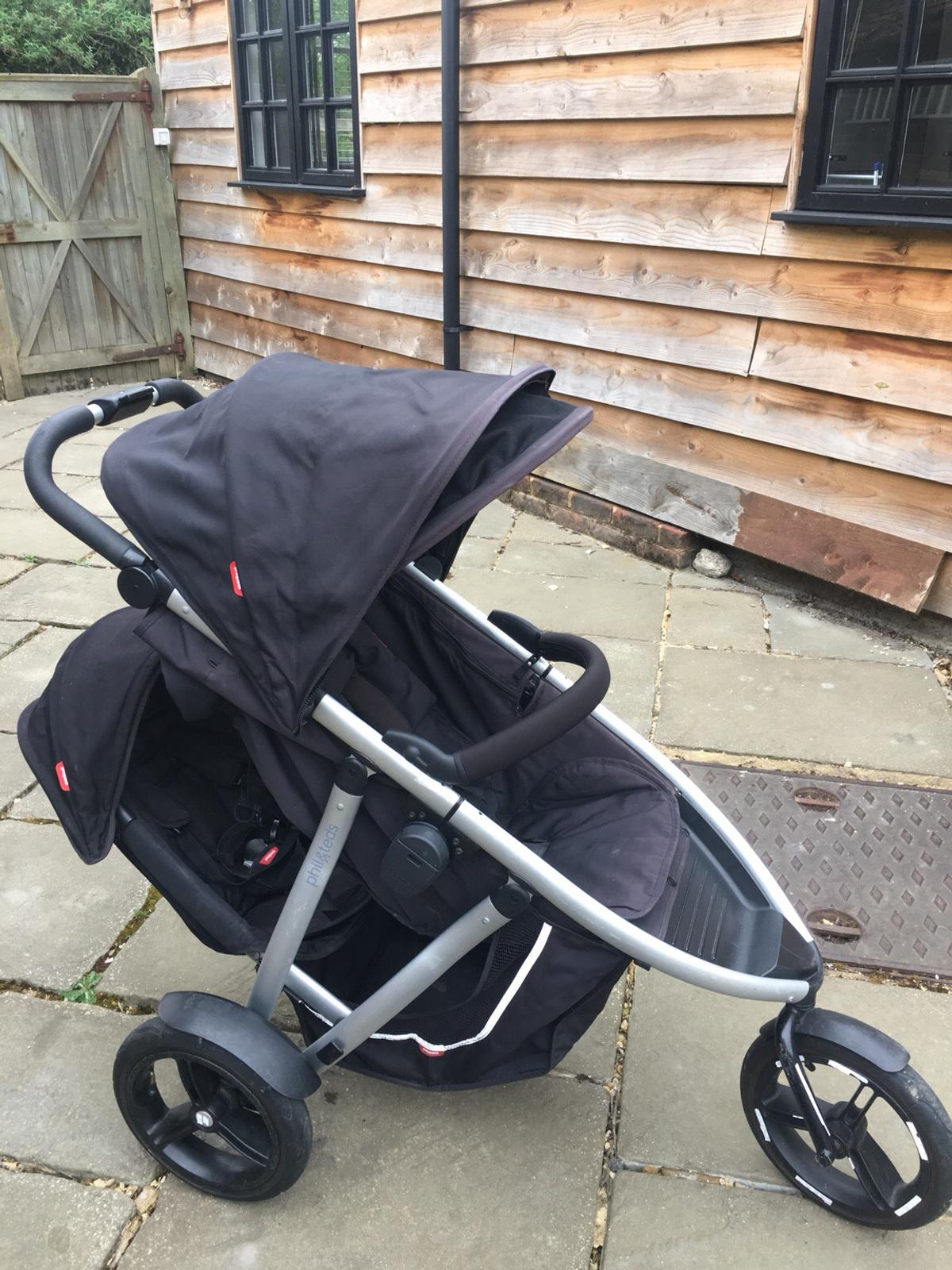 Phil And Teds Double Buggy Vibe Phil Ted S Vibe Double Buggy In South Oxfordshire For