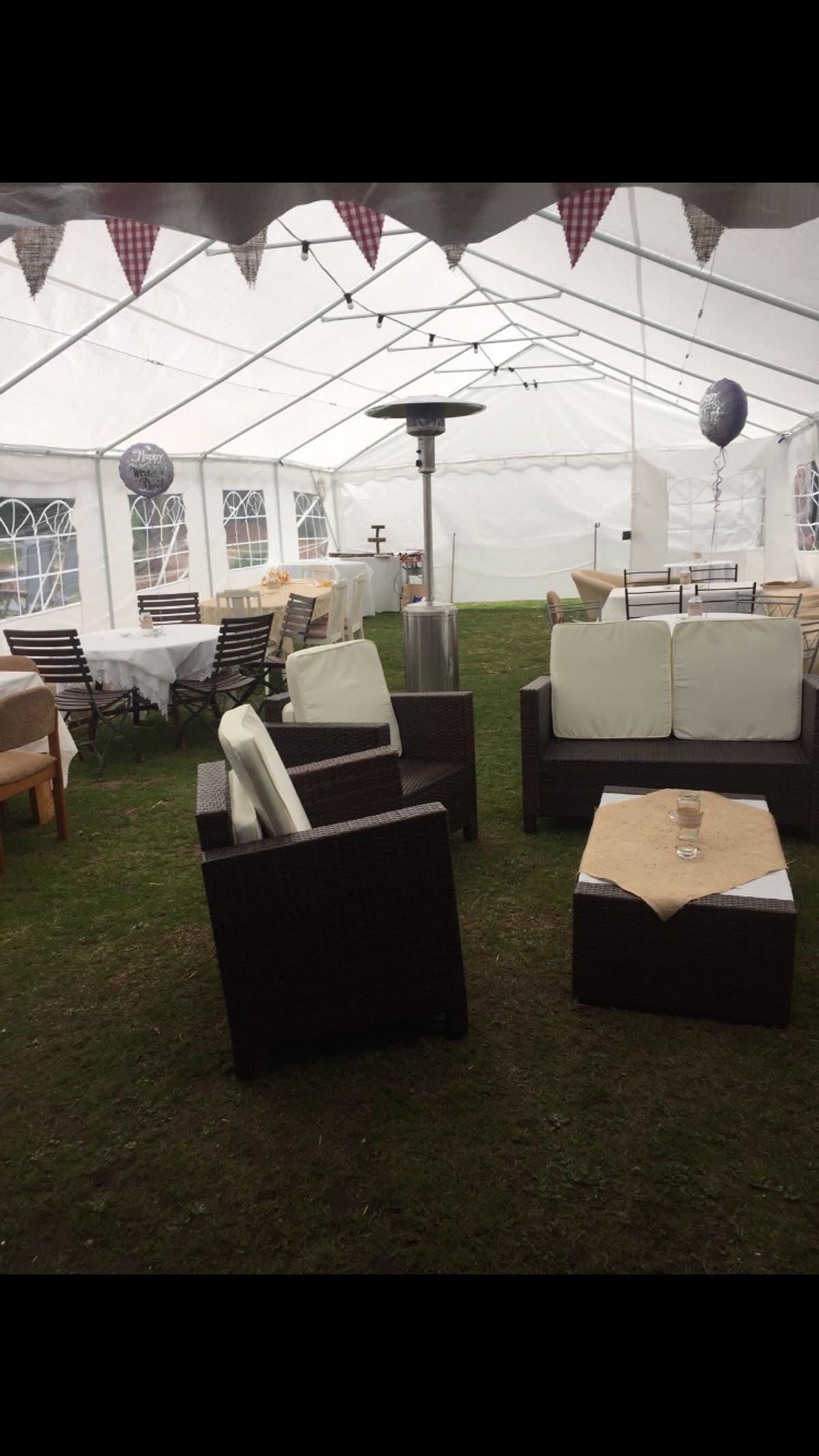 White Umbrella Marquees 6m X 12m Marquee Party Tent In Lichfield For 300 00 For Sale