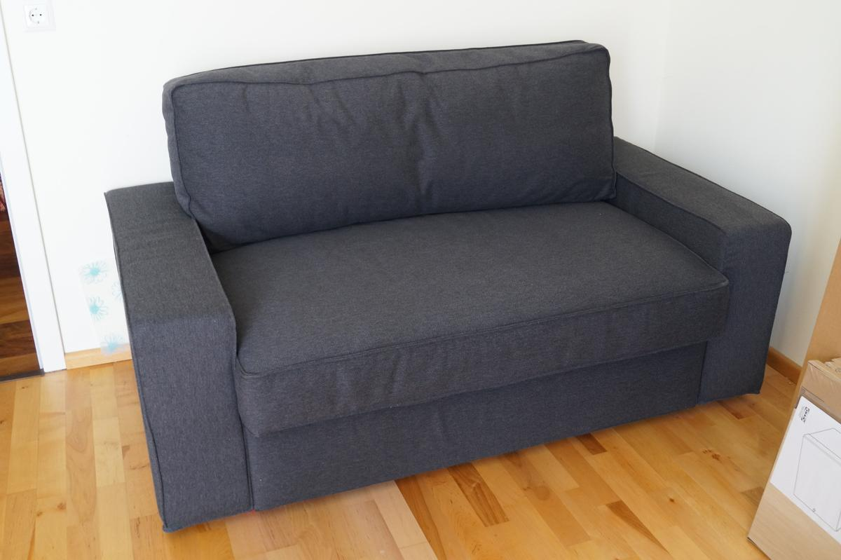 Bettsofa Vilasund Neuwertiges Vilasund 2er Bettsofa