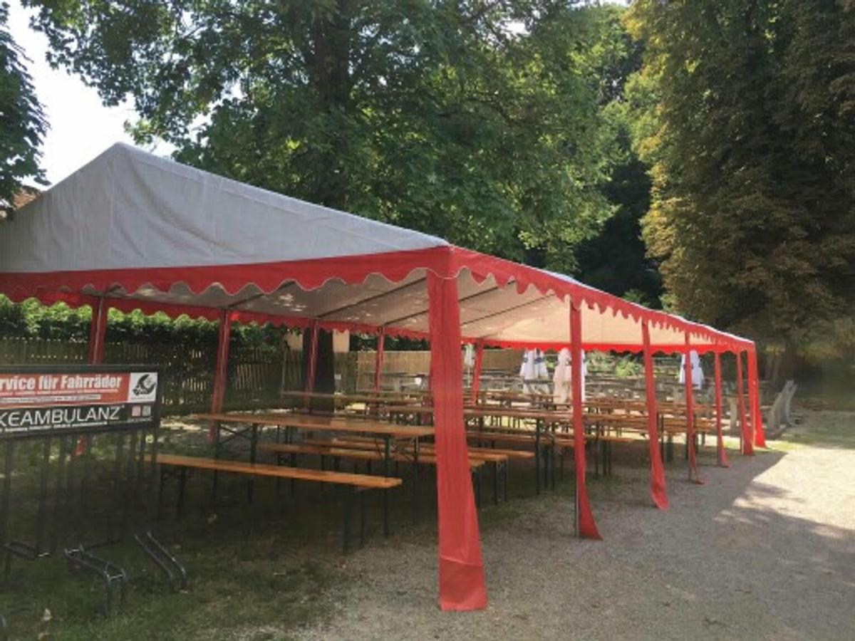 Pavillon Plane Partyzelt 6x12m In 93107 Thalmassing For €600.00 For Sale | Shpock