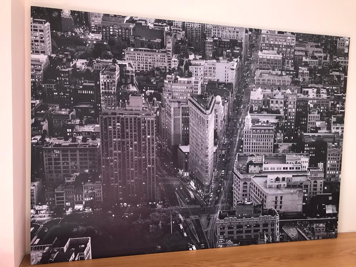 New York Poster Ikea Extra Large Ikea New York Canvas In Le16 Harborough For
