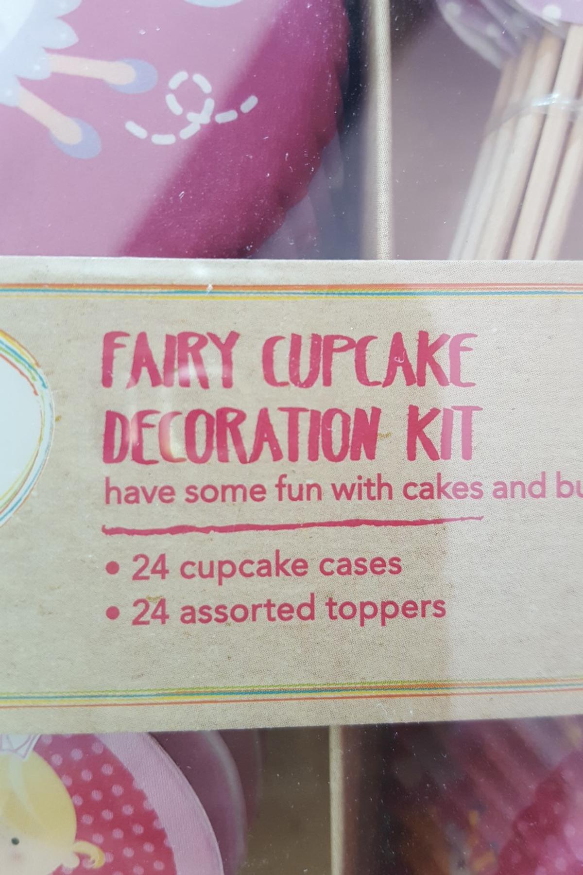 Décoration De Cupcake Brand New Fairy Cupcake Decoration Kit In Ws2 Walsall Für 1 50