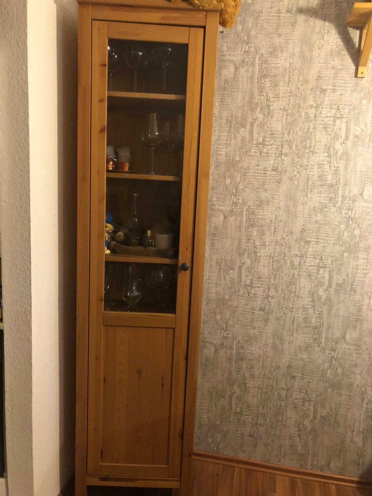 Hemnes Tv Bank Graubraun Hemnes Vitrine In 64584 Biebesheim For €100.00 For Sale