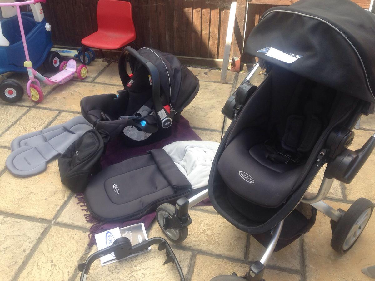 Graco Infant Car Seat Stroller Instructions Graco Symbio Travel System Pushchair In Co15 Tendring For
