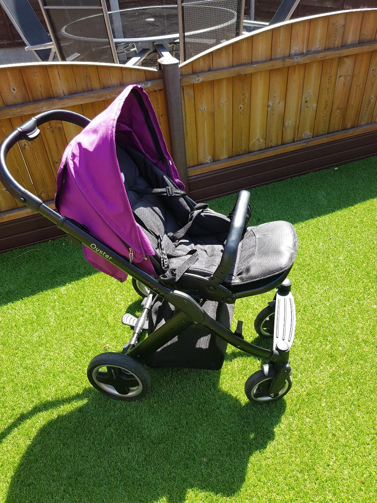 Oyster Pram Purple Oyster 1 Complete Pram And Car Seat And Base In Ls14 Leeds