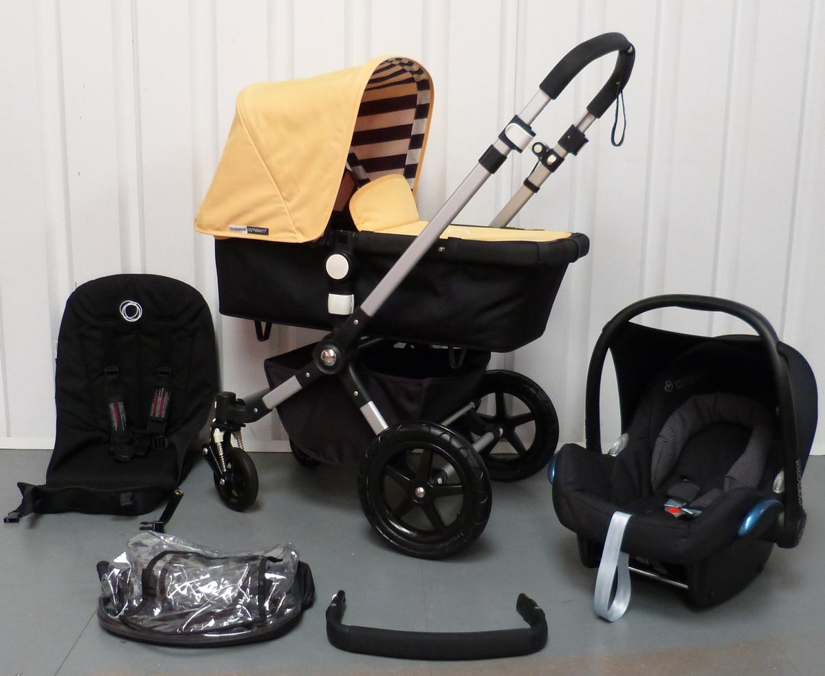 Bugaboo Cameleon 3 Maximum Weight Sunny Gold Black Bugaboo Cameleon 3 In M34 Tameside For