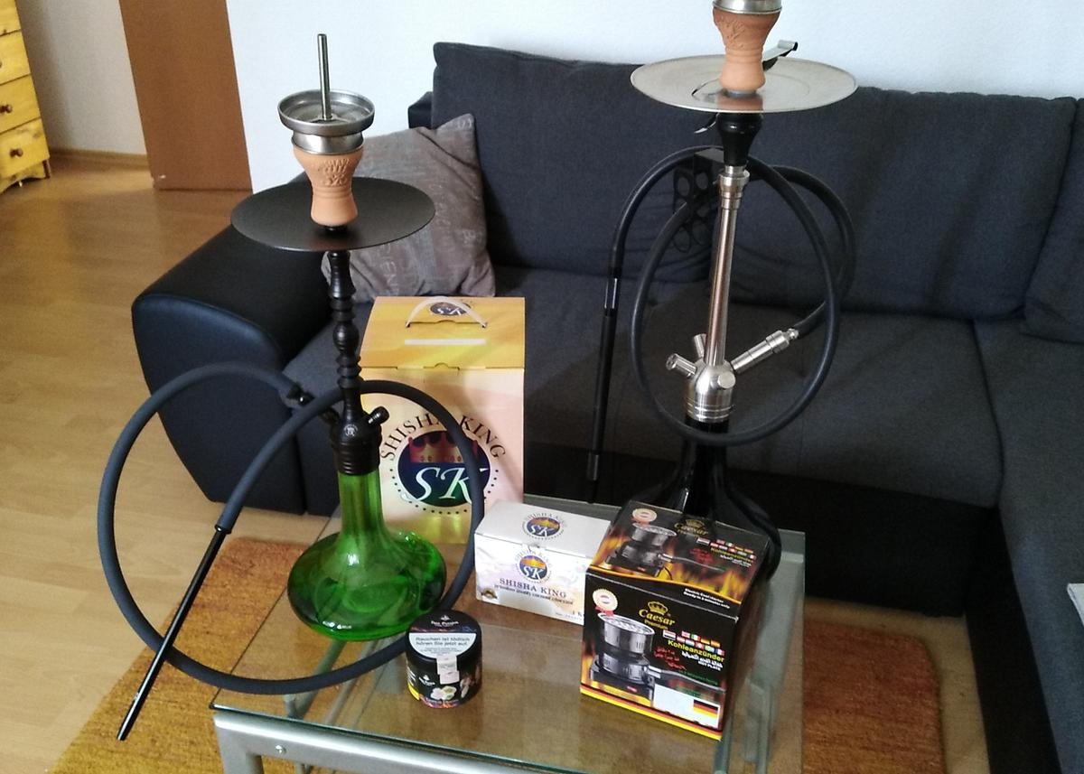 Shisha Set Amy Deluxe Shisha King In 32257 Bünde For 90 00 For Sale Shpock