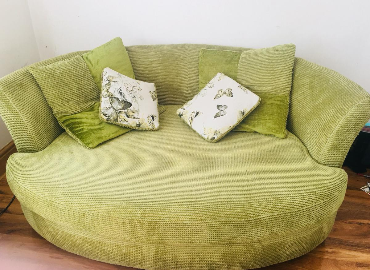 Dfs Marni Round Cuddler Sofa In M12 Manchester For 40 00 For Sale Shpock