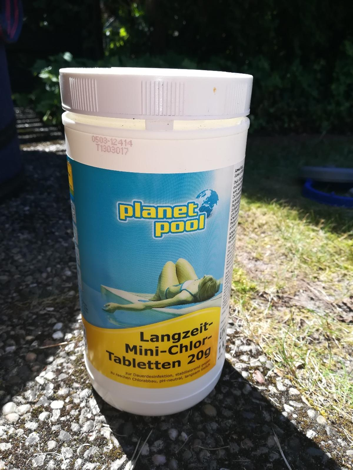 Chlortabletten Mini Pool Planet Pool Langzeit Mini Chlor Tabletten 20