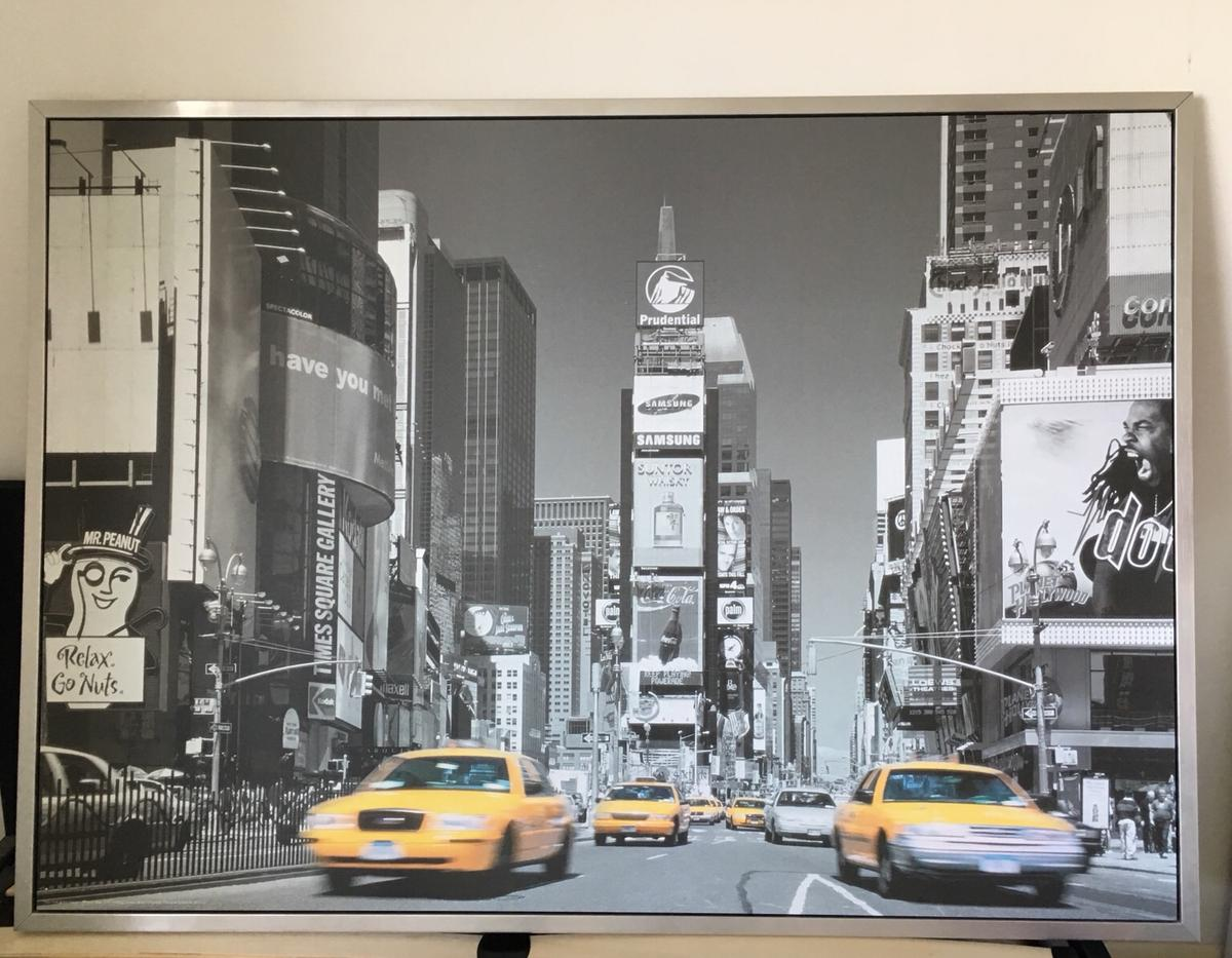 New York Poster Ikea Ikea New York Times Square Wall Art In London Borough Of