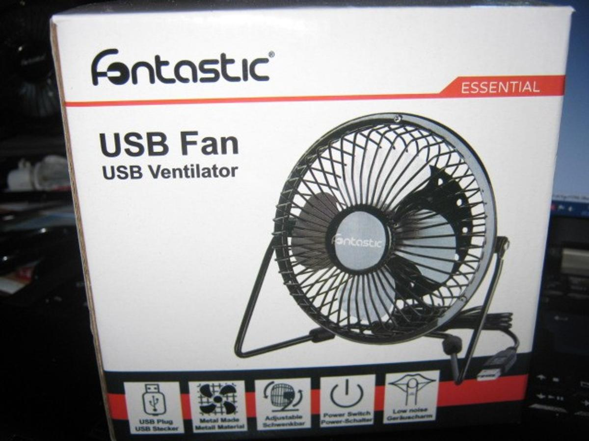 Metall Tischventilator Usb 4