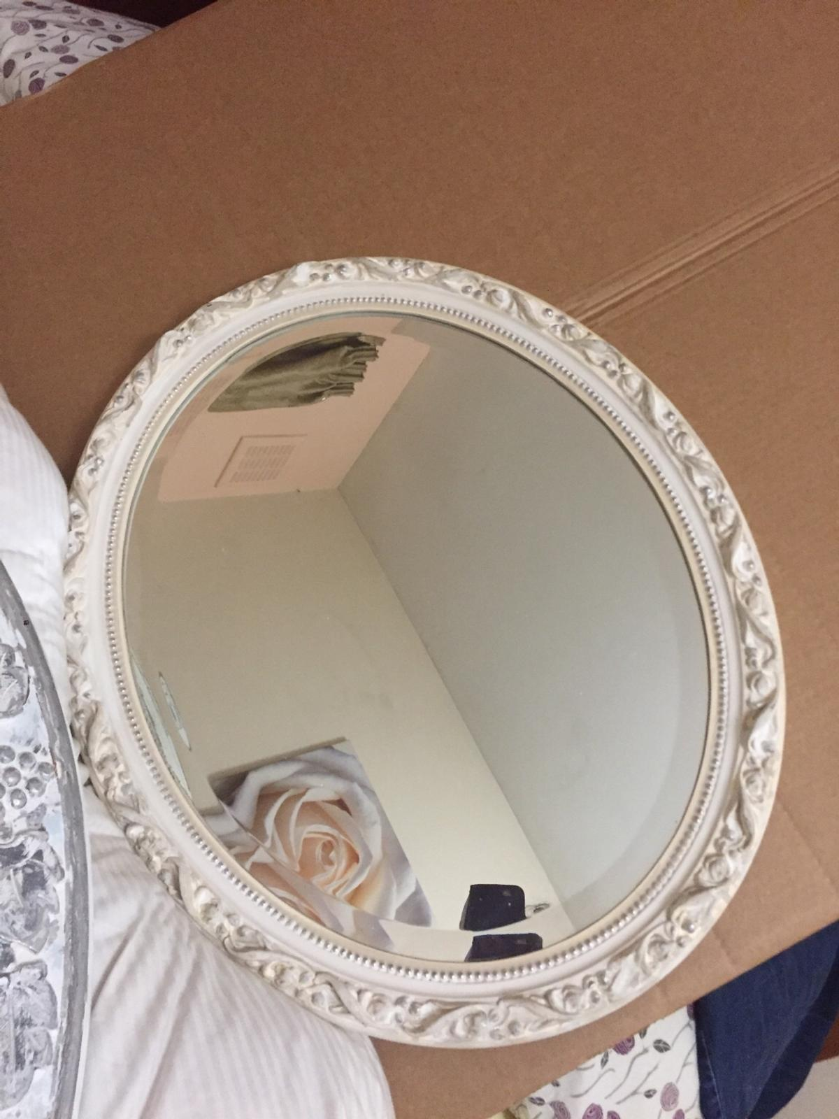 Oval Mirror Wood Frame Oval Mirror Wood Framed In E7 Newham For 20 00 For Sale