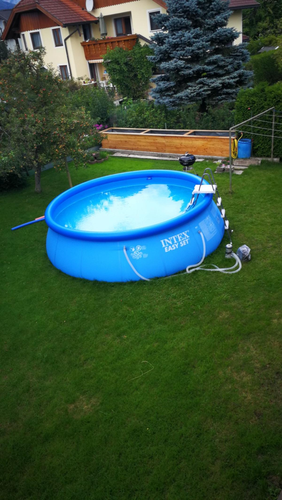 Chlor Pool Temperatur Intex Pool 457x122 Cm In 5400 Hallein For 199 00 For Sale Shpock