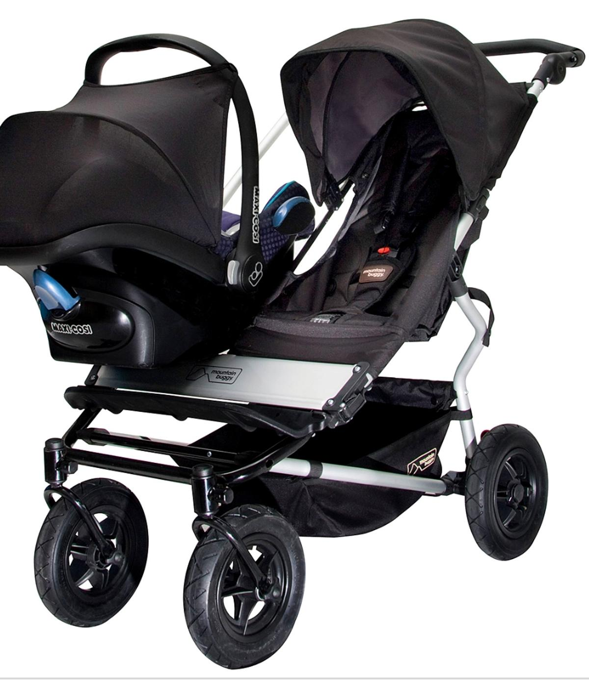 Mountain Buggy Car Seat Installation Mountain Buggy Duet Twins Buggy In L13 Liverpool For 460 00