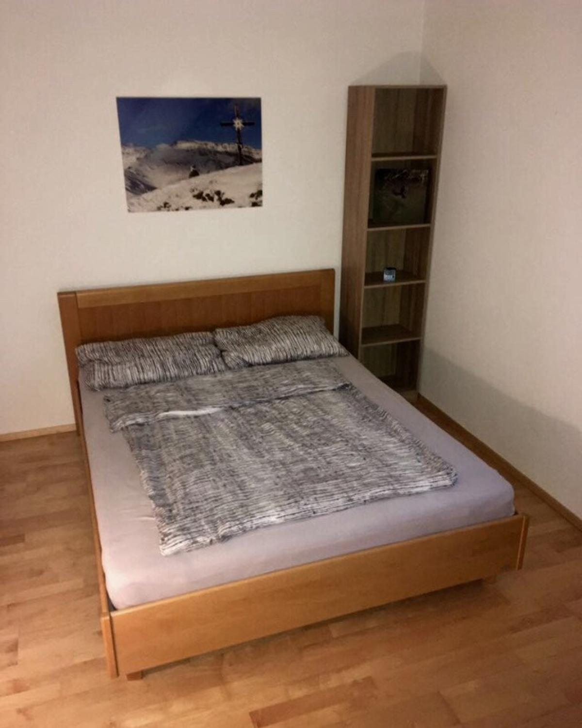 Holz Bett Massiv 160x200 In 6116 Weer For 120 00 For Sale Shpock