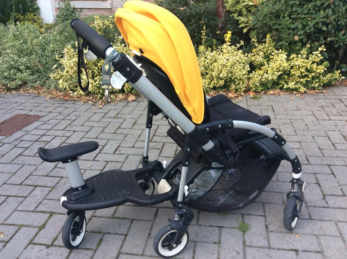 Bugaboo Bee With Buggy Board Bugaboo Pushchair Wheeled Board Adaptors In Ex5 Devon For