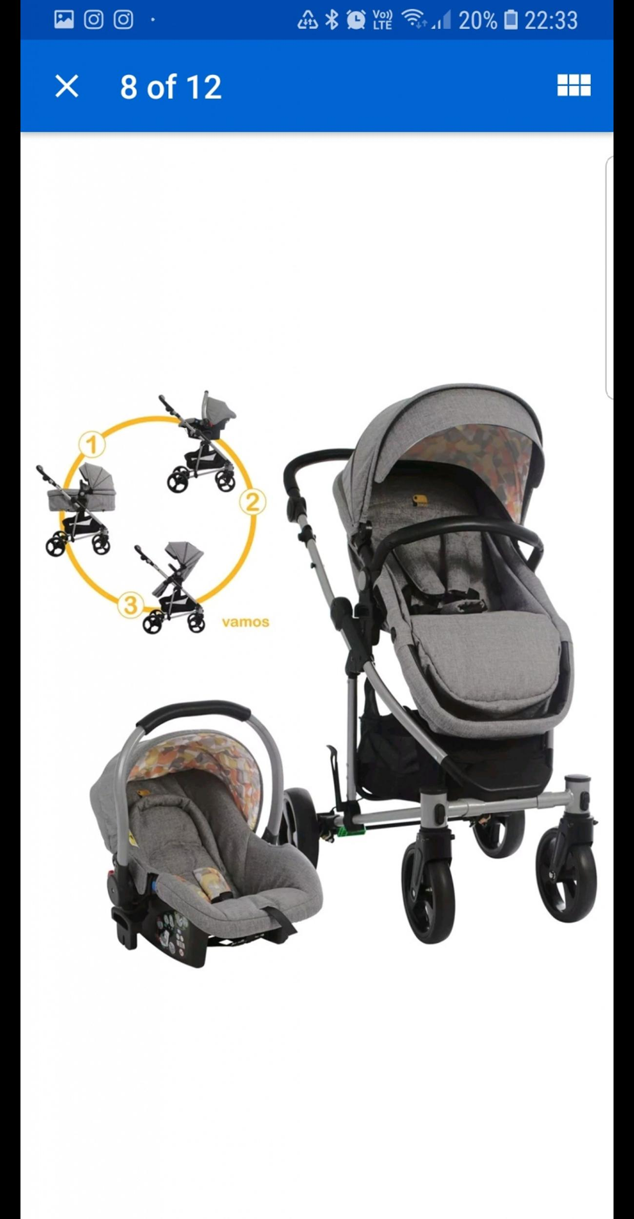 Travel System With Convertible Car Seat Toco Vamos Convertible Stroller Travel System In Br3 Bromley