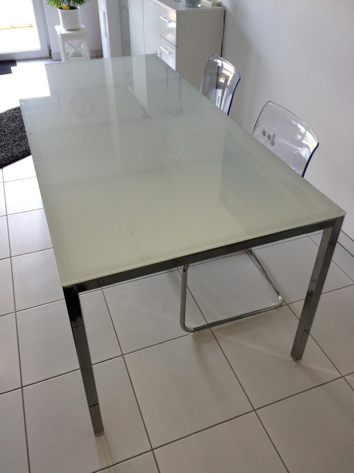 Ikea Glastisch Esstisch Torsby 180 Cm Lang In 68766 Hockenheim For 85 00 For Sale Shpock