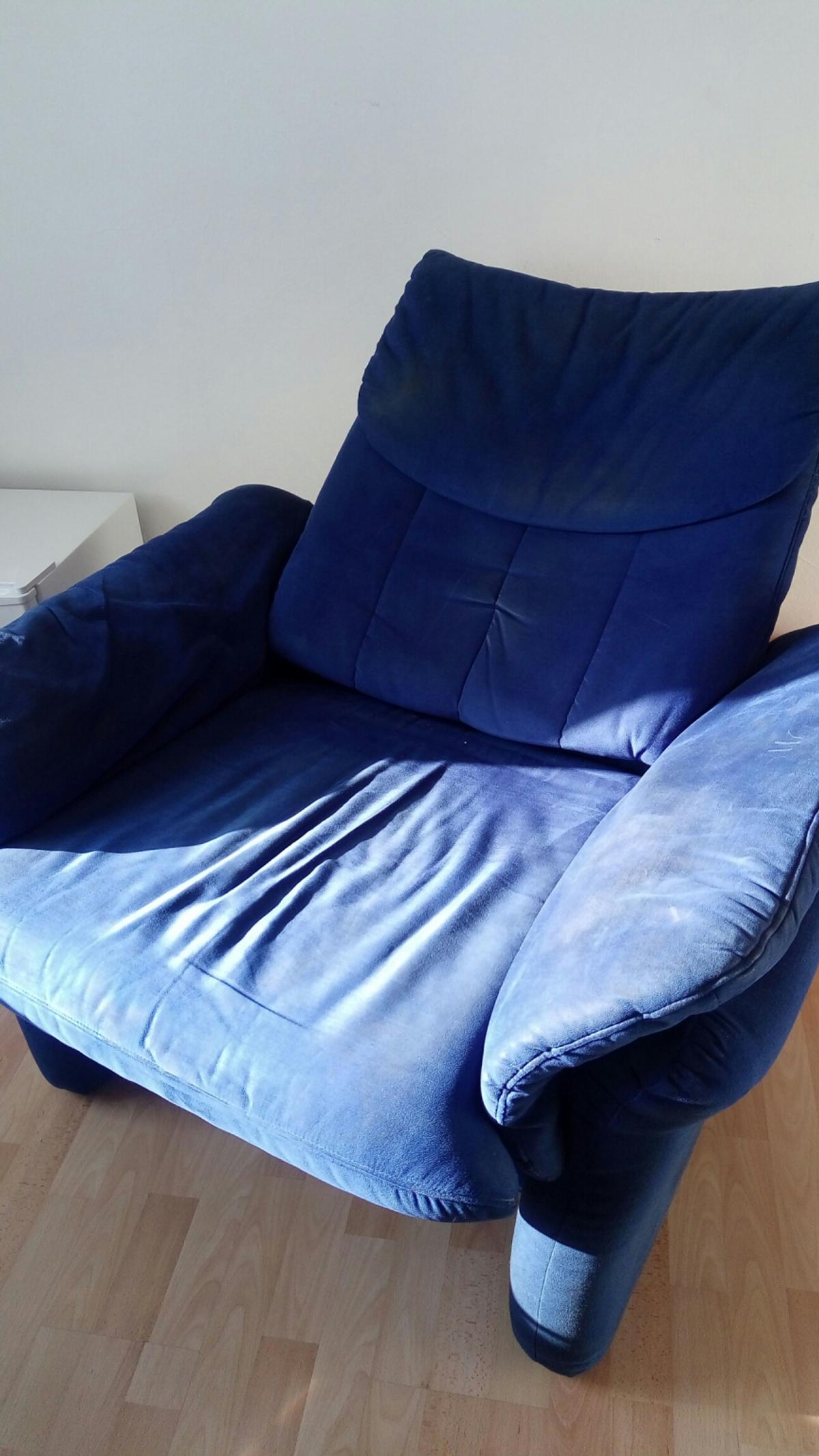 Sessel Blau Relax Sessel In 86825 Bad Wörishofen For €5.00 For Sale | Shpock