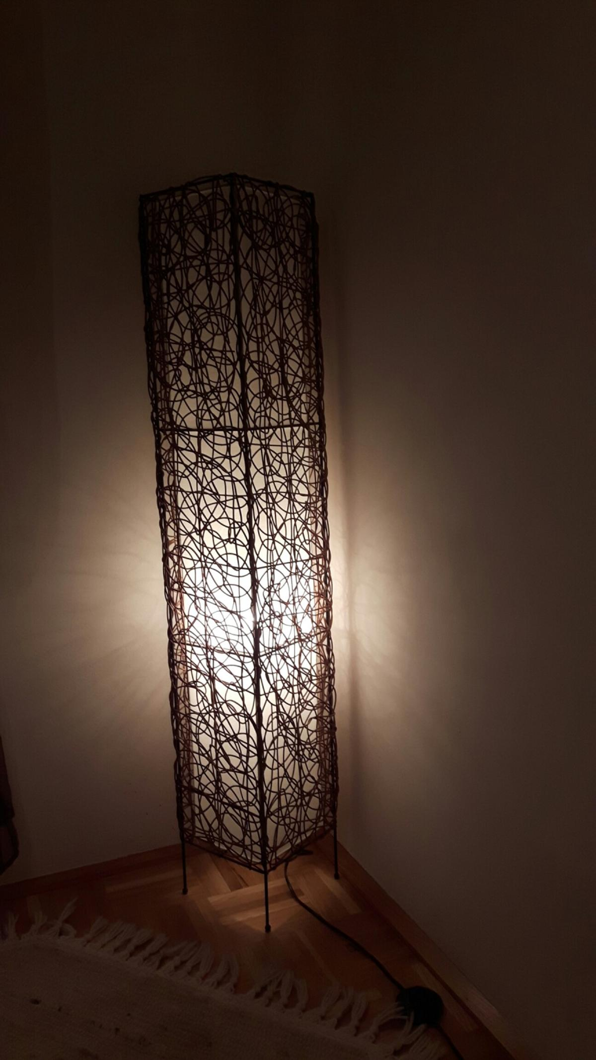 Rattan Stehlampe In 8665 Langenwang For 15 00 For Sale Shpock