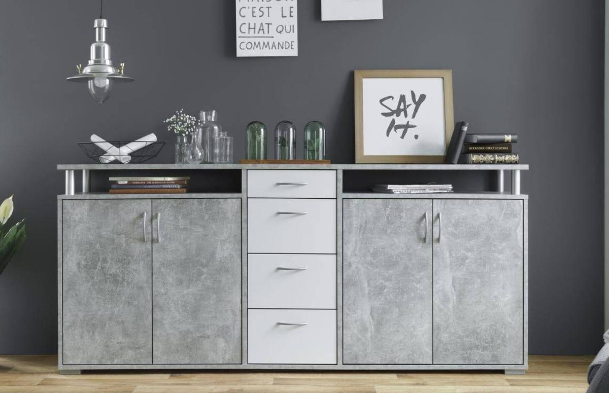 Sideboard Betonoptik Sideboard Kommode Beton Optik In 51465 Bergisch Gladbach For €89.00 For Sale | Shpock