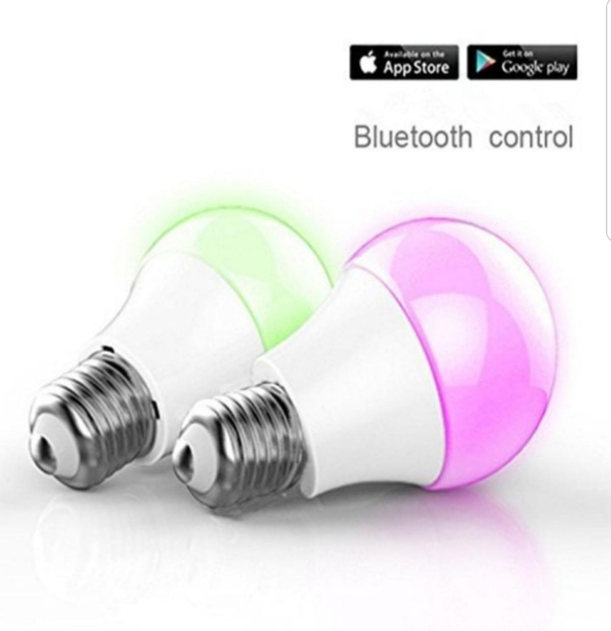 2 X Bluetooth Rgb Led Lampe E27 In 33397 Rietberg For 25 00 For Sale Shpock