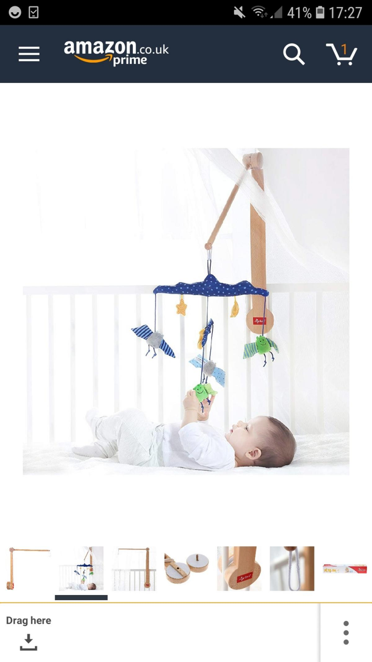 Wooden Baby Mobile Sigikid Wooden Baby Mobile Arm Bracket In Nw6 Camden For 10 00