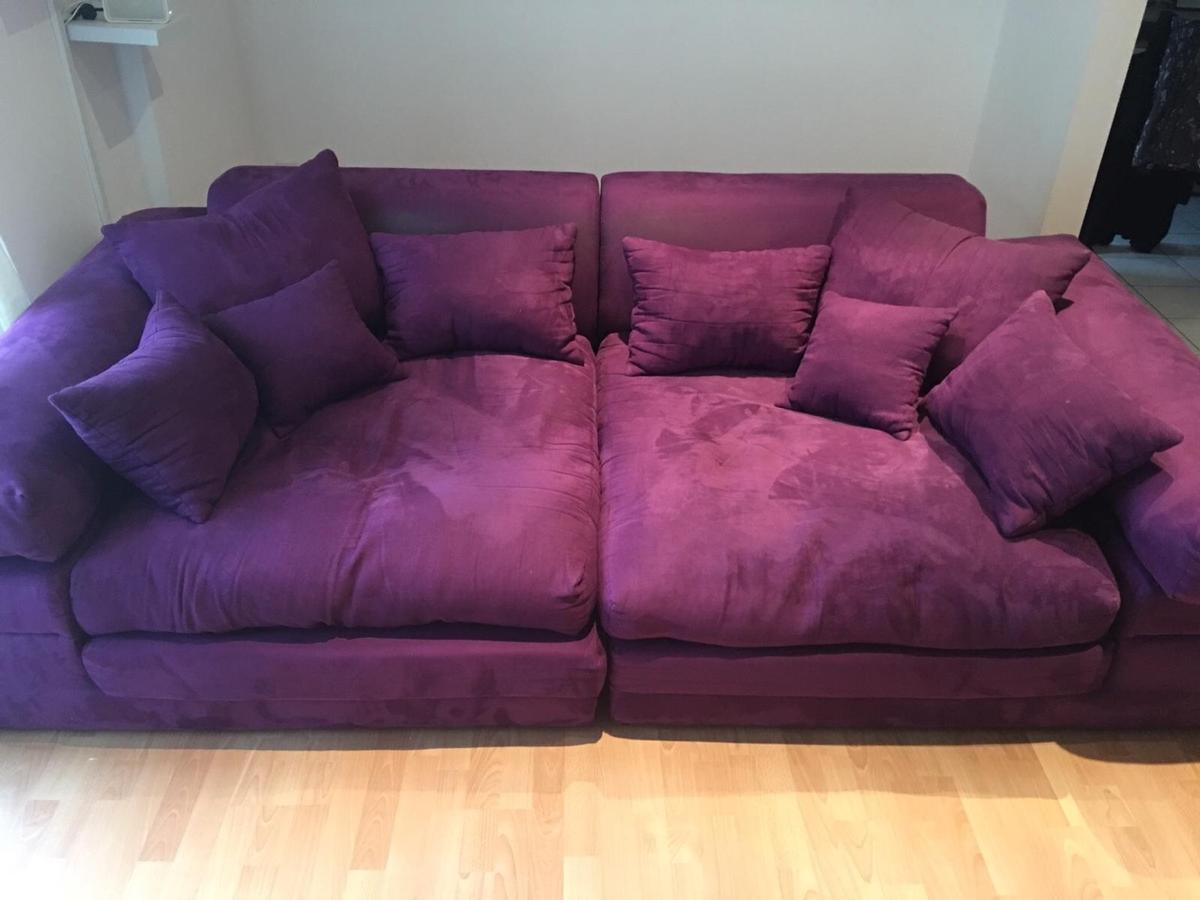 Couch Lila Lila Big Sofa In 44625 Herne For €60.00 For Sale | Shpock