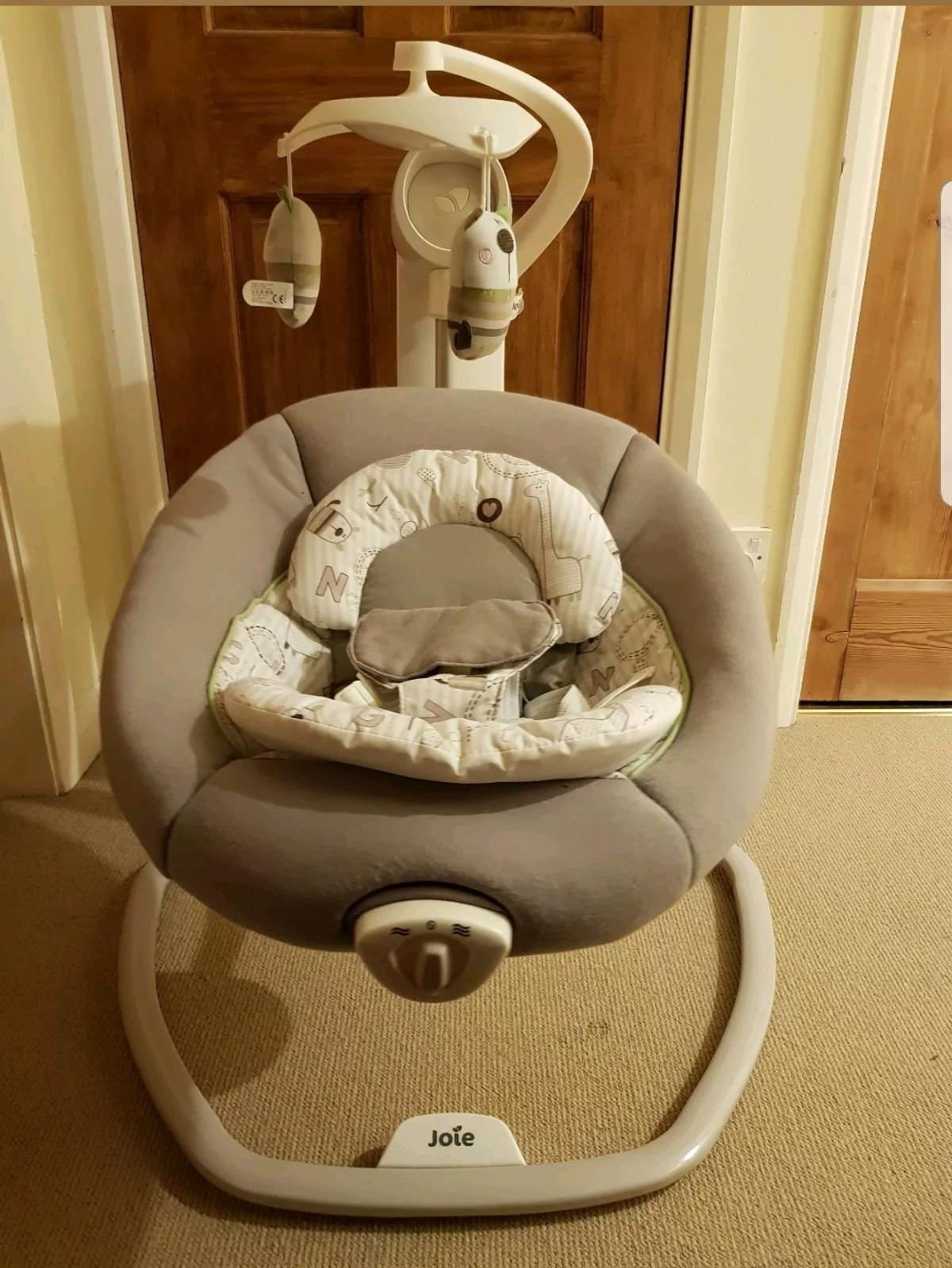 Joie Baby Swing Rocker Joie Serina Swivel Portable Baby Swing Rocker