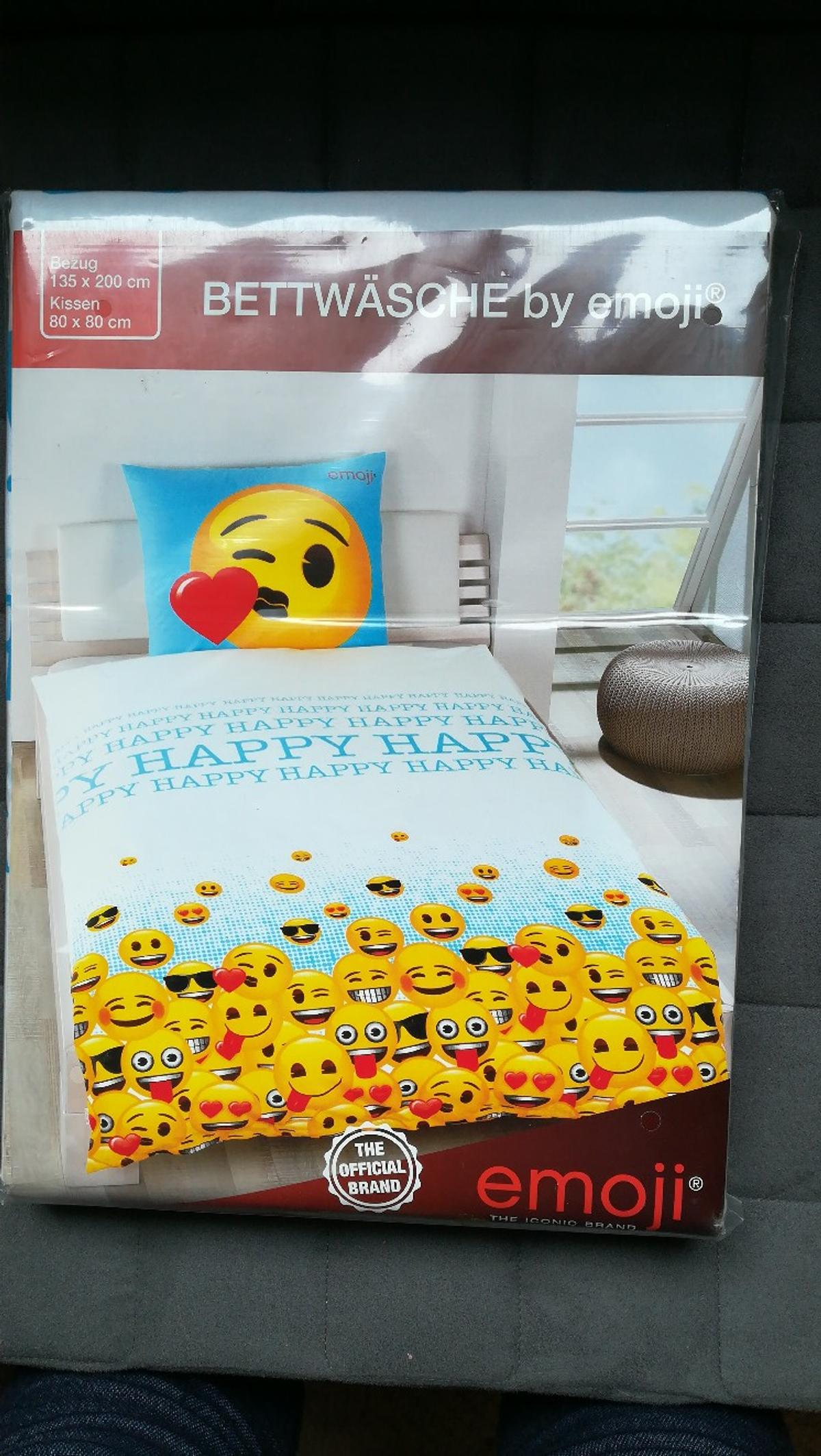 Bettwäsche By Emoji In 39638 Gardelegen For 15 00 For Sale Shpock