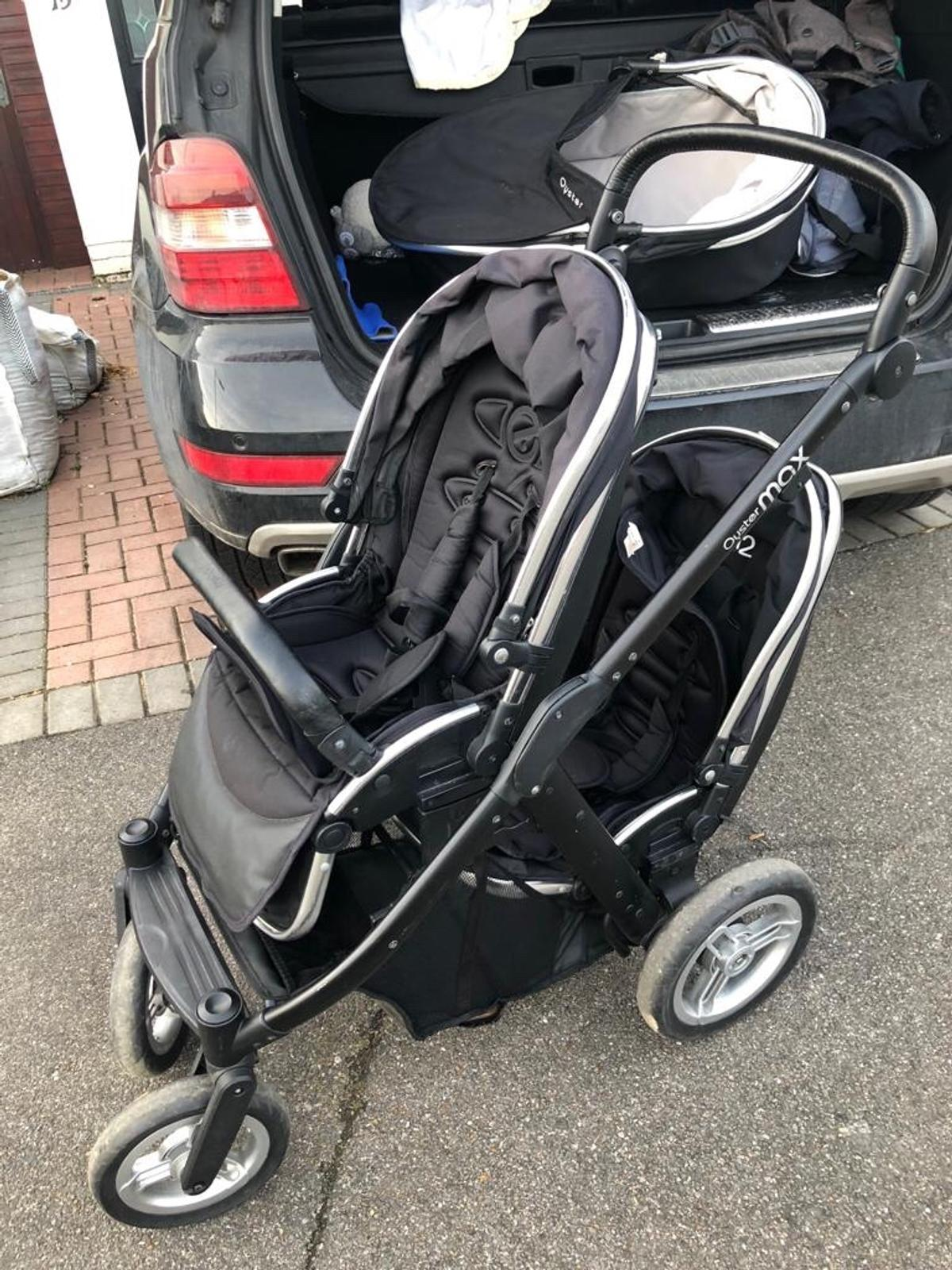 Baby Buggy Mercedes Oyster Max Double Twin Pram In En5 London For 250 00 For