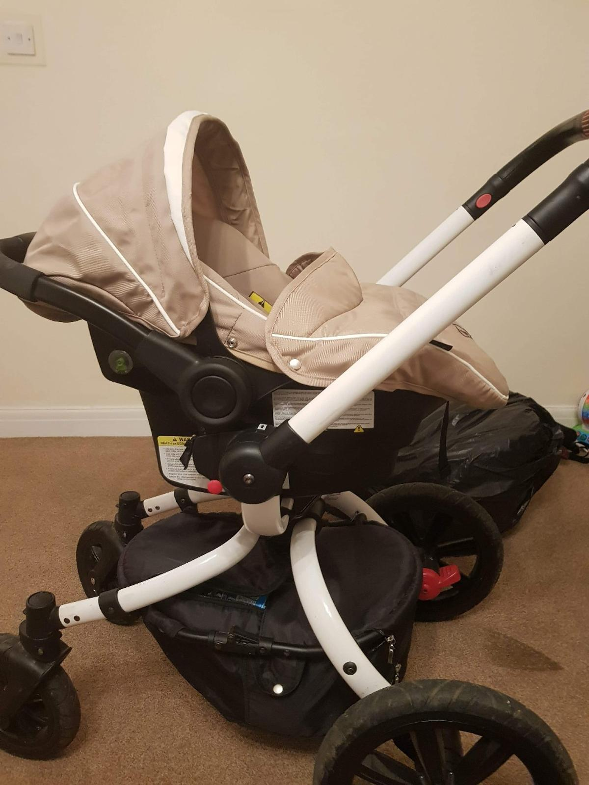 Britax Duo Twin Dolls Buggy Hot Pink Pushchair Pram 3in1 Coletto Marcello Art In Colnbrook For