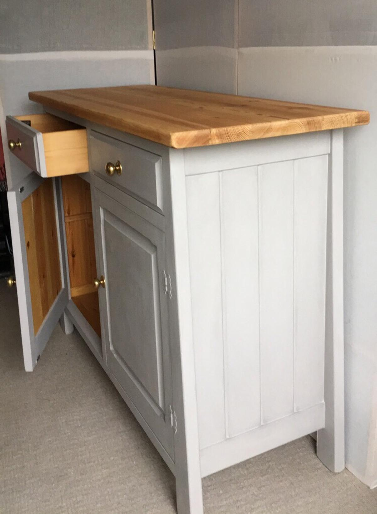 Sideboard Shabby Chic Chunky Rustic Sideboard Shabby Chic In Me8 Gillingham For 126 00