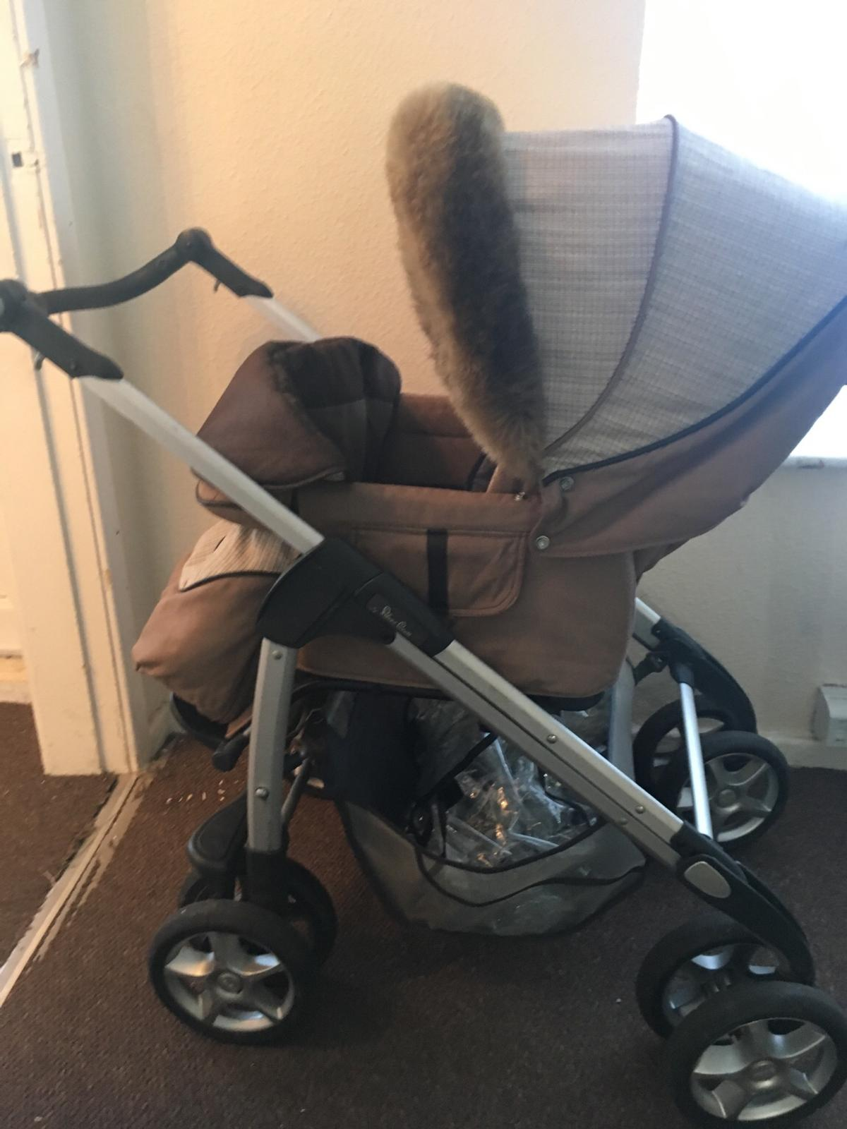 Silver Cross Pushchairs On Ebay Silver Cross Single Seat Pushchair Fur Hood In Doncaster For