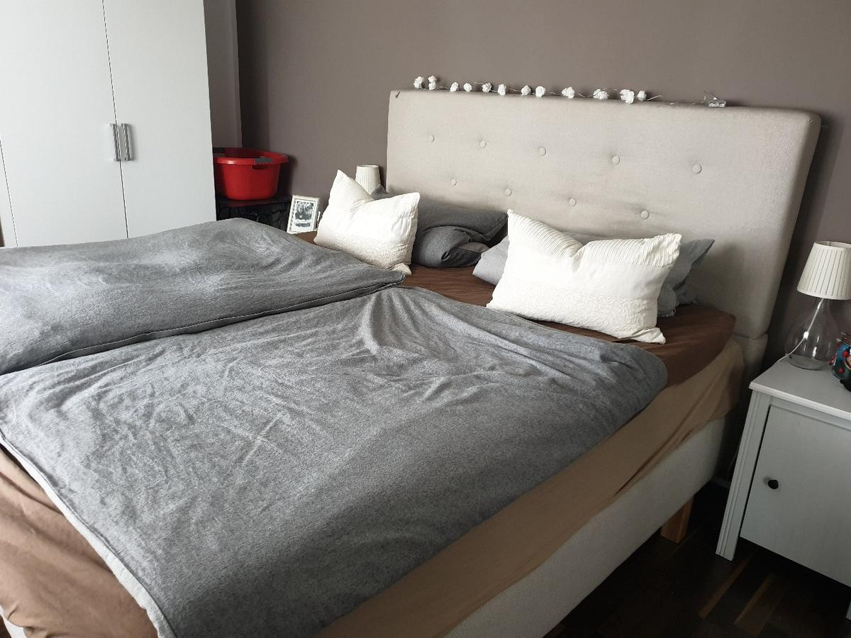 Ikea Boxspringbett Höhe Boxspringbett Evenskjer In 63811 Stockstadt Am Main Für 500