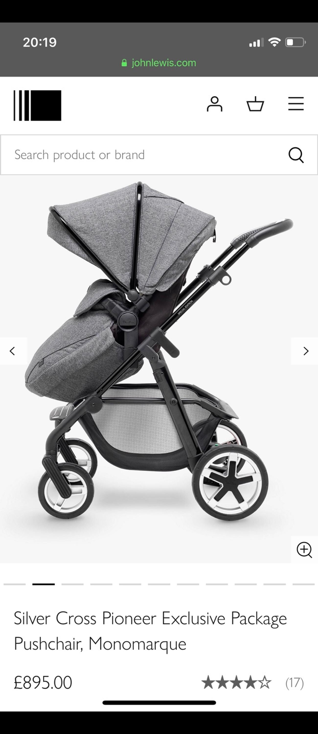 Silver Cross Camden Pushchair Silver Cross Pioneer Brand New Unused In Nw1 Camden For