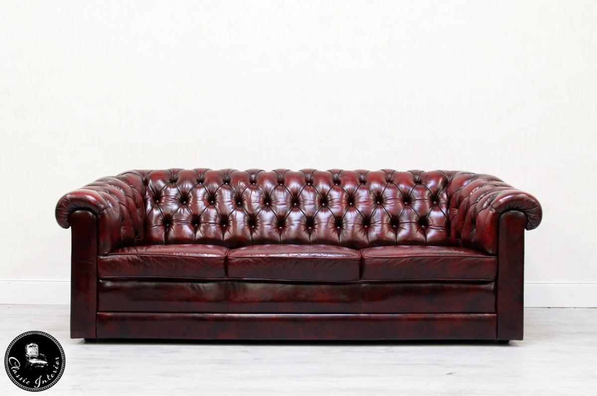 Vintage Couch Chesterfield Sofa Leder Antik Vintage Couch E In 32791 Lage Für