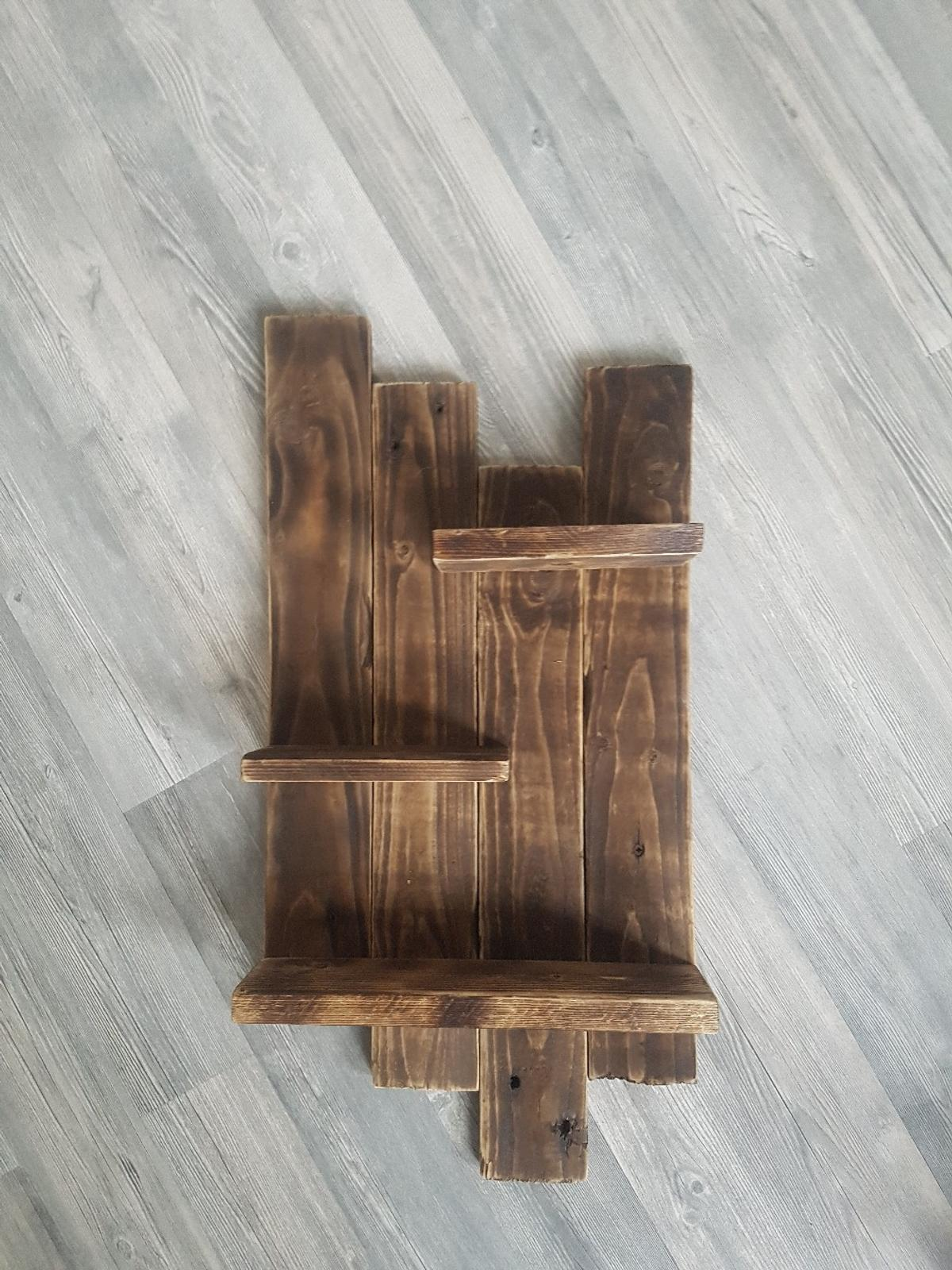 Regal Holz Neu. Handgefertigtes Holz Regal. Rustikal. In 24534 Neumünster For €29.00 For Sale | Shpock